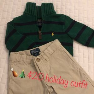 Polo holiday outfit